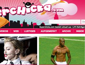 Superchicka.com glänzt jetzt mit eigener Suchfunktion