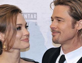 """Angelina Jolie: Im """"Tempel der Lust"""" wird Brad Pitt zur Grinsekatze"""