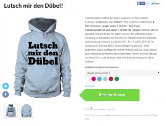 Deutsch! Lustvolle Arno Dübel Modelinie | Lutsch mir den Dübel!