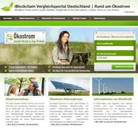 iBlockchain Vergleichsportal Deutschland | Rund um Ökostrom & Atomausstieg