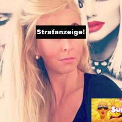 Hetze! Strafanzeige gegen blonde Fitness-Göre Jenni | FitX Europaplatz Aachen