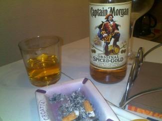 Captain Morgan & Co.   Sieht so ein Original Hartzer Frühstück aus?
