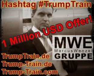 Donald J. Trump | Wird Trump-Train.com zur POTUS-Domain?