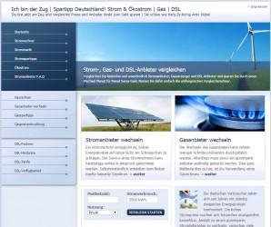IchbinderZug.de | Spartipp für Deutschland zu Strom & Ökostrom | Gas | DSL