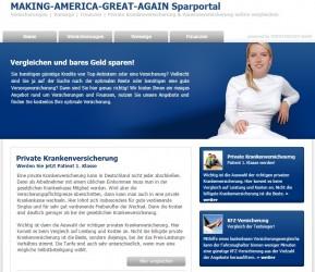 MAKING-AMERICA-GREAT-AGAIN Sparportal zum Vergleichen