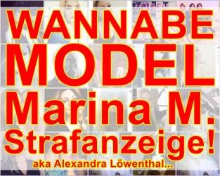 Staatsanwaltschaft   Strafanzeige gegen Schulden-Model Marina Masina @Aachen