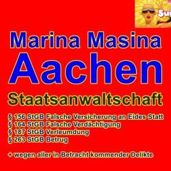 Rund 80 Seiten Strafantrag gegen Marina Masina Anwalt Peter Schäfer