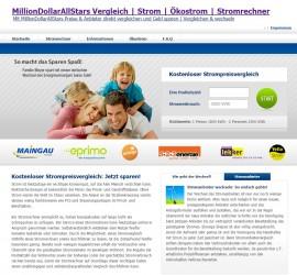 MillionDollarAllStars.com | Strom | Ökostrom | Stromrechner jetzt online