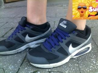 Trend-Schuhe | Nike Air Max Chase Style mit kurzen Sneakersocken