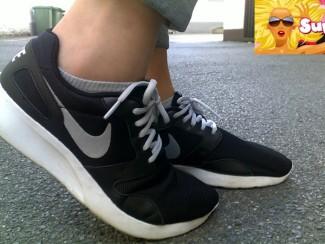 Trend-Check   Sonniger Herbstbeginn mit Nikes & Sneaker Socken