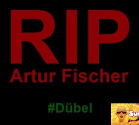 RIP Artur Fischer | Tod des Fischer-Dübel Erfinders bewegt Millionen