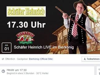 ++ Schlager-News ++: Schäfer Heinrich LIVE im Bierkönig von Mallorca