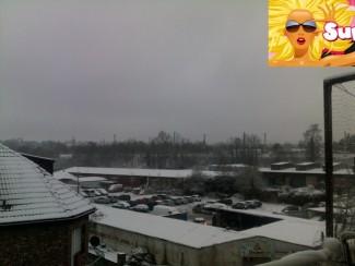 Endlich Schnee in Aachen-Stadt: Der Winter hält wieder Einzug