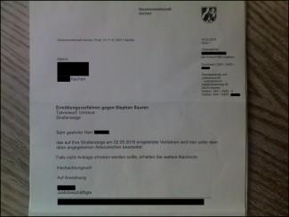 Ermittlungsverfahren gegen Sparkassen-Berater Stephan Sauren   Staatsanwaltschaft Aachen