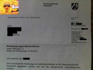 Verwalter Michael Bremen Betrug | Jetzt ermittelt Generalstaatsanwalt Düsseldorf