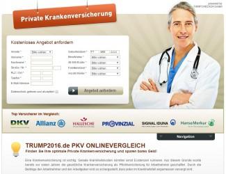 TRUMP2016.de PKV ONLINEVERGLEICH | Die Private Krankenversicherung