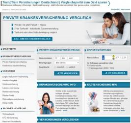 TrumpTrain Versicherungen Deutschland | Vergleichsportal zum Geld sparen